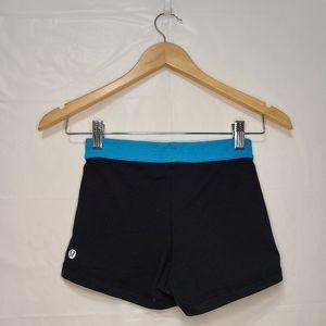 Lululemon Boogie Yoga Shorts w/ Blue Band